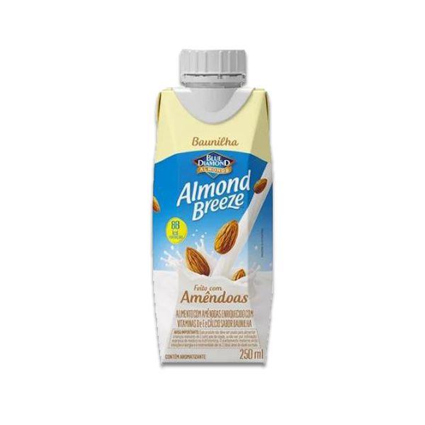 Bebida Vegetal de Amêndoas sabor Baunilha Almond Breeze 250ml