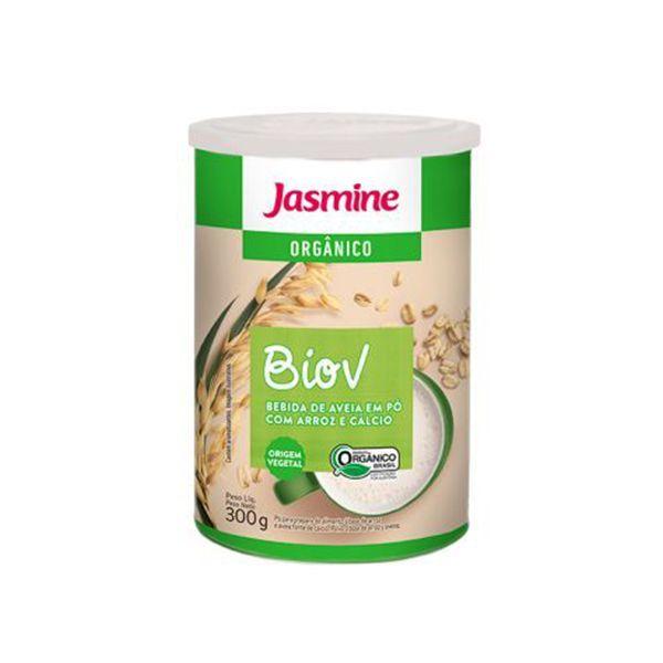 Biov Bebida de Aveia em Pó com Arroz e Cálcio Orgânica Jasmine 300g