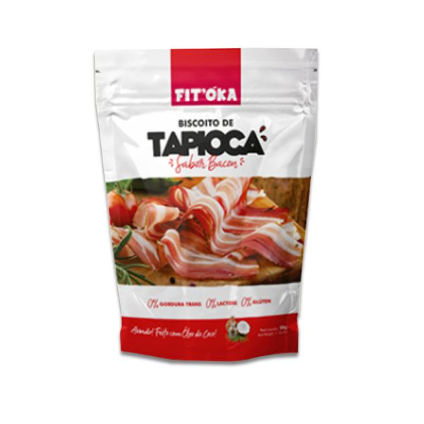 Biscoito de Tapioca Bacon Fit´Oka 50g