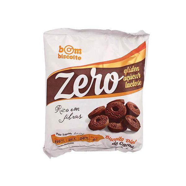 Biscoito Diet Sabor Cacau Bombiscoito Zero Glúten E Zero Lactose 100g