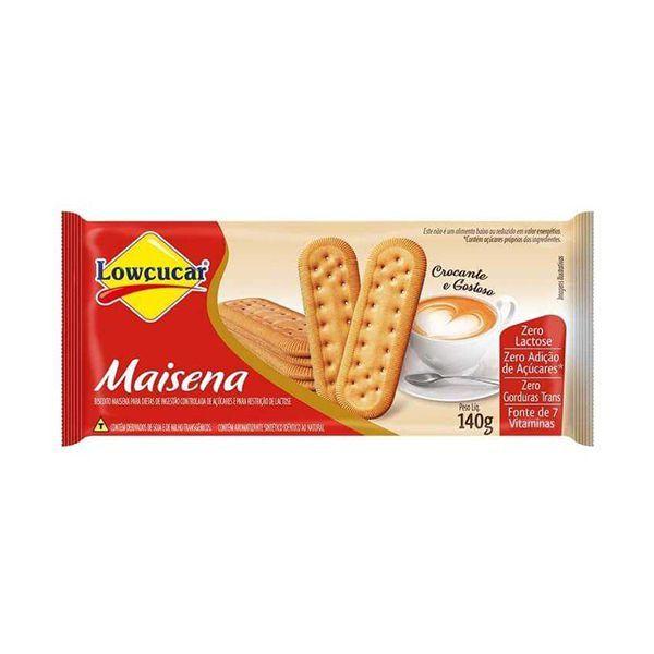 Biscoito Maisena Zero Açúcar Lowçucar 140g