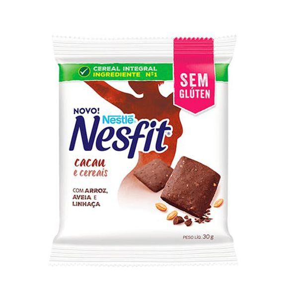 Biscoito Nesfit Sem Glúten Cacau E Cereais Nestle Unidade