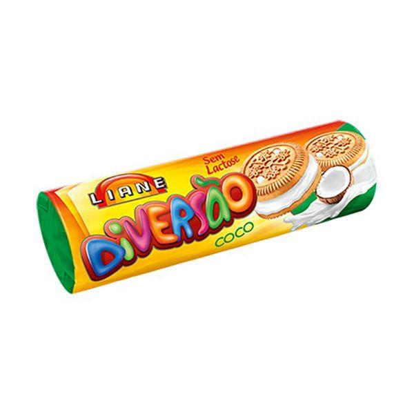 Biscoito Recheado Coco Sem Lactose Liane 115g