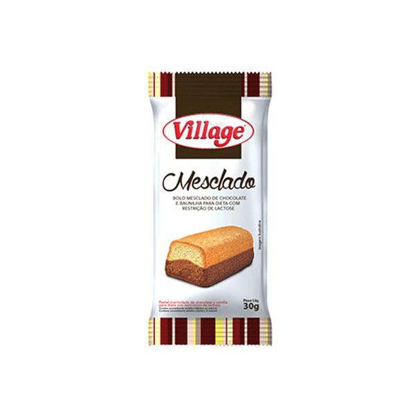 Bolinho Village Sem Lactose Mesclado 30g