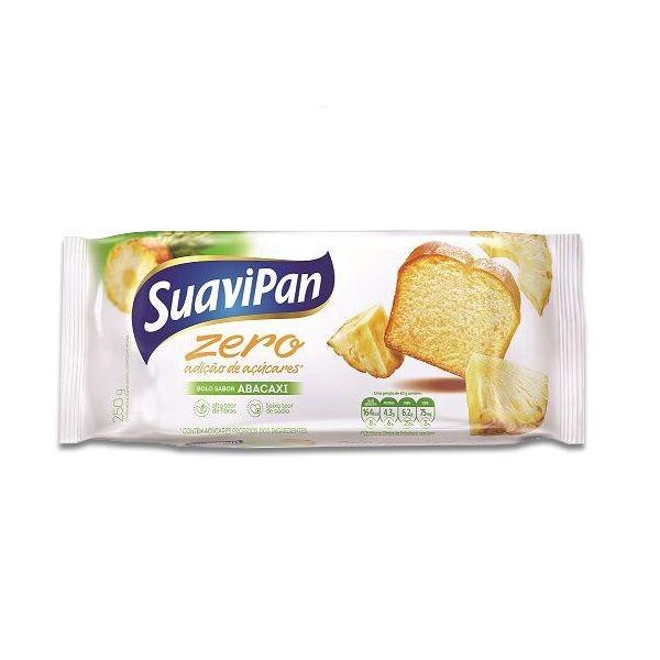 Bolo Abacaxi Zero Açúcar Suavipan 250g