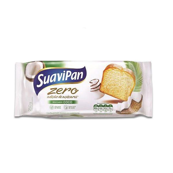 Bolo de Coco  Zero Açúcar Suavipan 250g