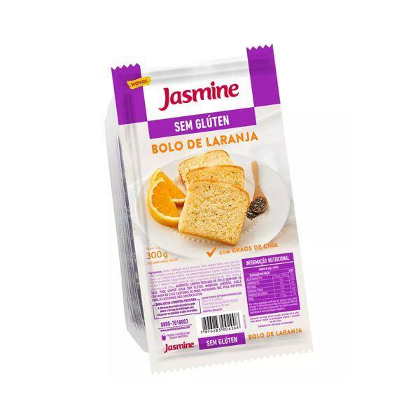 Bolo Sem Glúten Laranja Jasmine 300g
