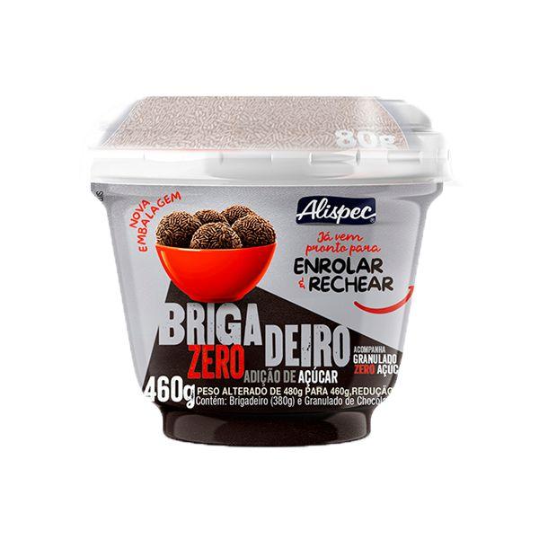 Brigadeiro Zero Açúcar Alispec 460g - PRODUTO COM PRAZO DE CONSUMO ATÉ 29/11/2020