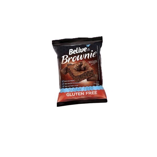 Brownie Belive Be Free Chocolate 40g