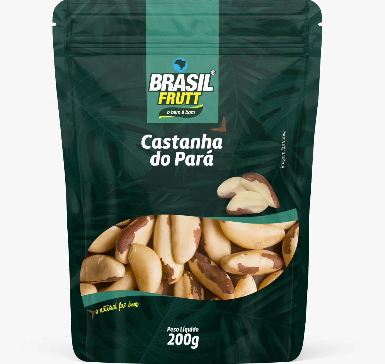 Castanha Do Pará Brasil Frutt 200g