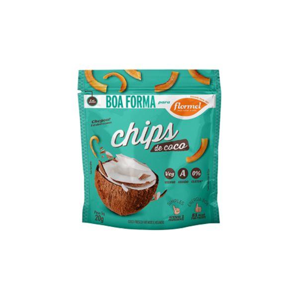 Chips De Coco Flormel Boa Forma Pacote Unitário