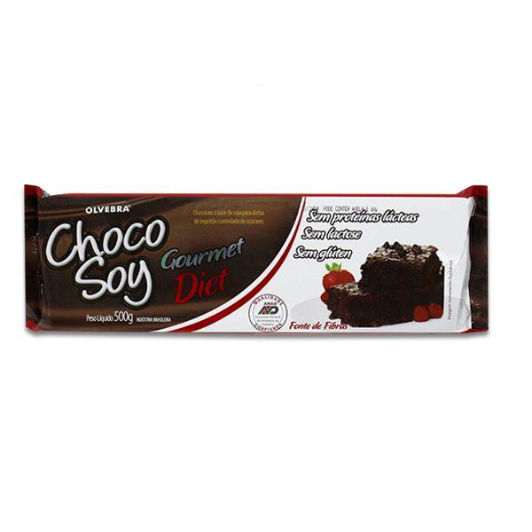 Chocolate Chocosoy Zero Lactose, DIET À Base De Soja Olvebra 500g