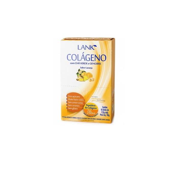 Colágeno Com Chá Lank 16x3,5g Laranja