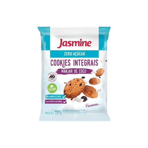Cookies Zero Açúcar Integrais Ameixa E Coco Jasmine 150g