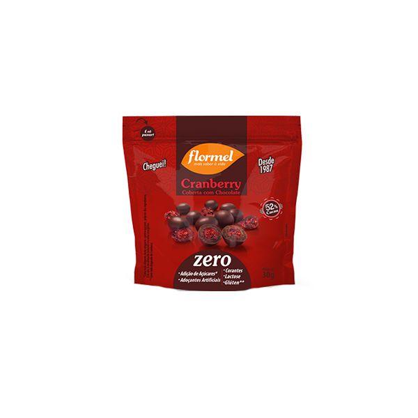 Cranberry Coberta Com Chocolate Flormel 30g