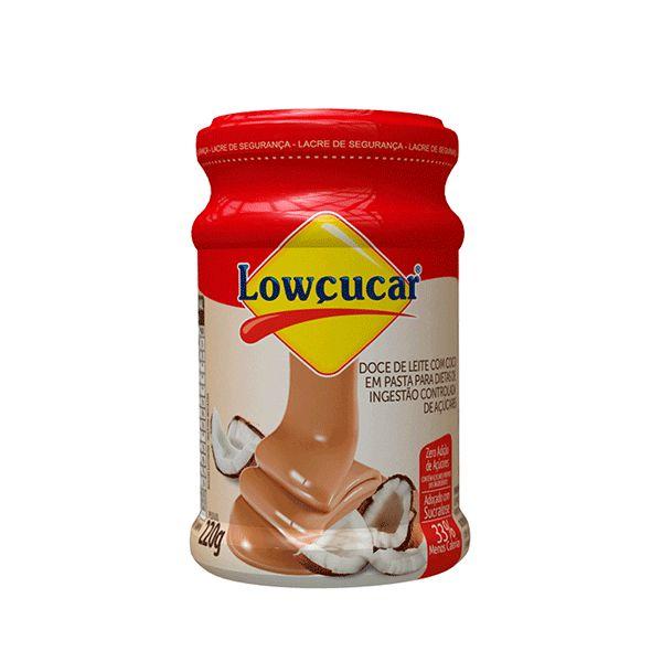 Doce De Leite Com Coco Cremoso Diet Lowçucar 220g