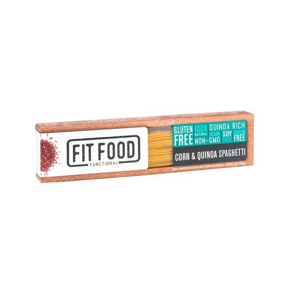 Espaguete Sem Glúten De Milho E Quinoa Fitfood 250g