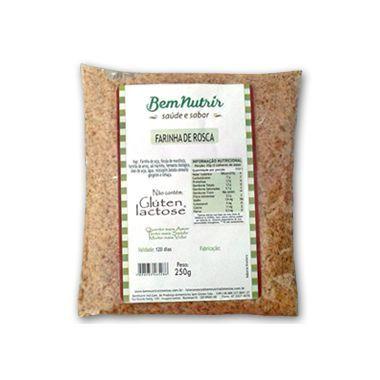 Farinha De Rosca Diet, Sem Glúten E Sem Lactose Bem Nutrir 250g
