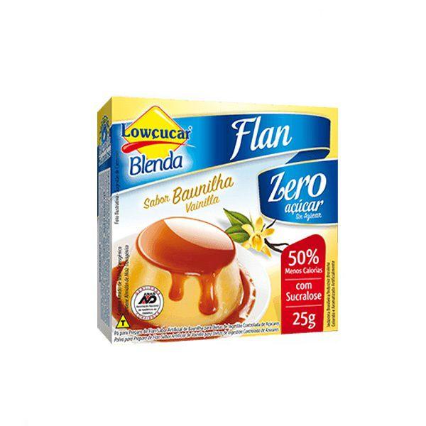 Flan Blenda Baunilha Com Sucralose Lowçúcar 25g