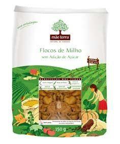 Flocos De Milho Sem Açúcar Mãe Terra 150g