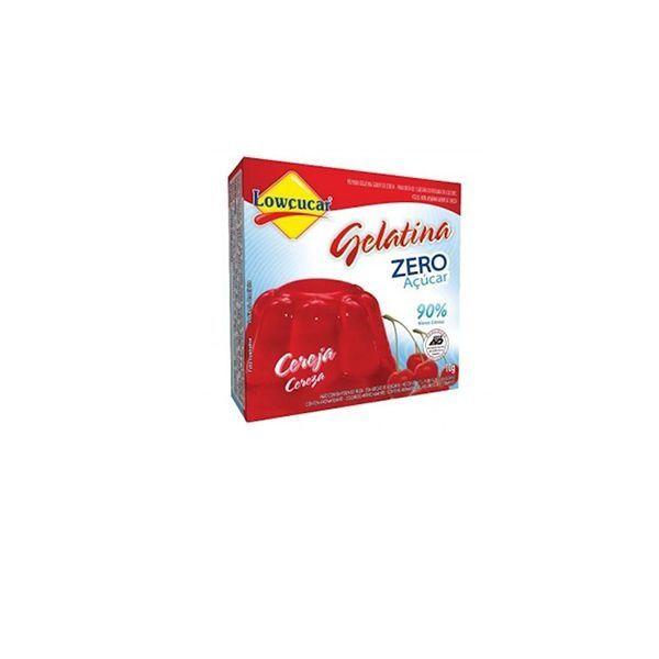 Gelatina Cereja Zero Açucares Lowçúcar 10g