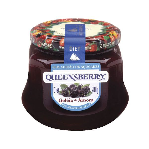 Geleia Queensberry Diet 280g Amora