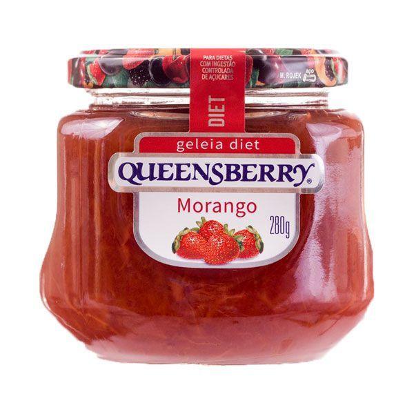 Geleia Queensberry Diet 280g Morango