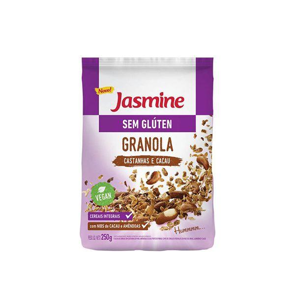 Granola Jasmine Sem Glúten Castanhas E Cacau 250g