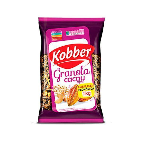 Granola Light Cacau (52% Menos Gorduras) Kobber 1kg