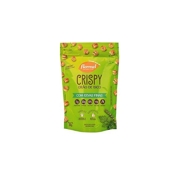 Grão De Bico Crispy Flormel Com Ervas Finas 30g