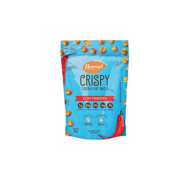 Grão De Bico Crispy Flormel Com Pimenta 30g