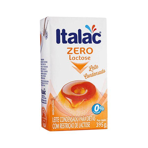Leite Condensado Zero Lactose Italac 395g