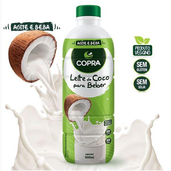 Leite De Coco Pronto Para Beber Copra 900ml