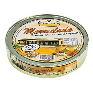 Marmelada Sem Adição De Açúcar Reserva De Minas 540g