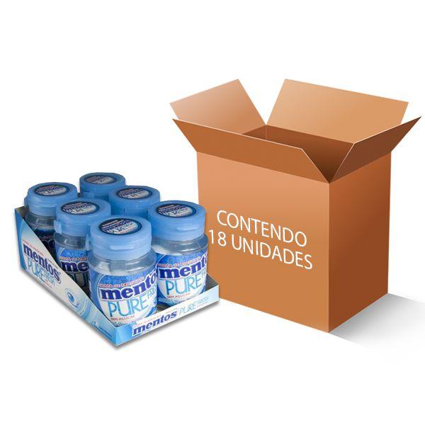 Mentos Pote Pure Fresh Mint contendo 18 unidades - GANHE 3UN FRUIT-TELLA