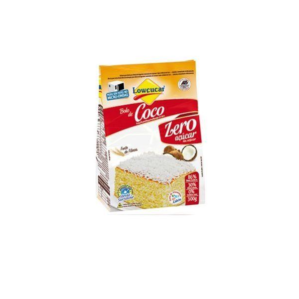 Mistura Para Bolo Coco Lowçúcar 300g