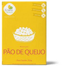 Mistura Para Pão De Queijo Sem Glúten Grano Brasilis 250g