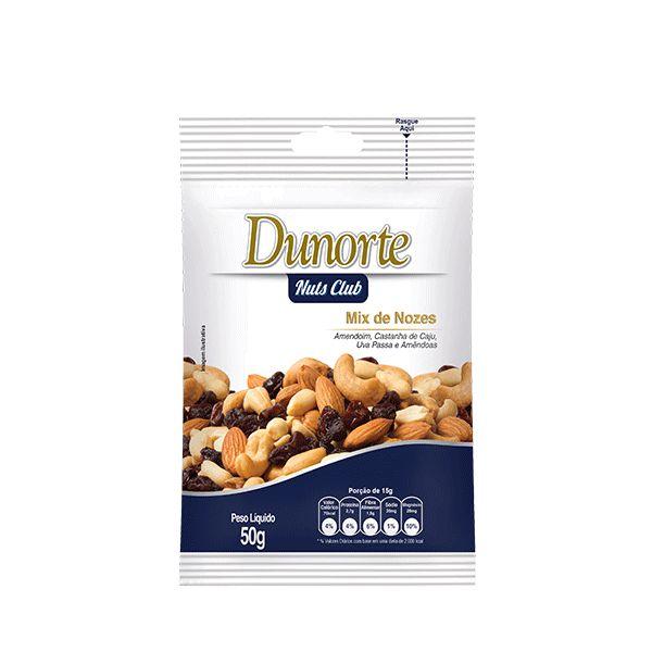 Mix De Nozes Dunorte 50g