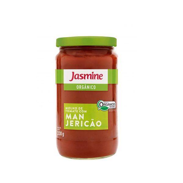 Molho De Tomate Com Manjericão Orgânico Jasmine 330g