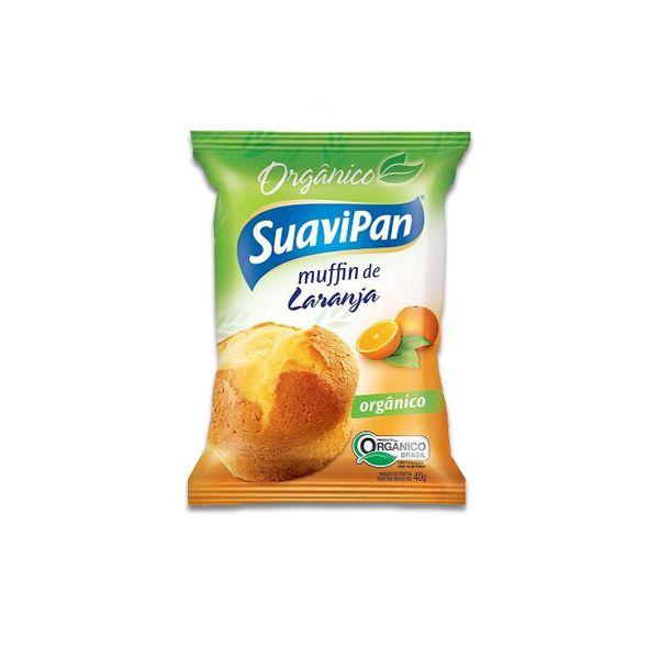 Muffin De Laranja Orgânico Suavipan Unidade de 40g