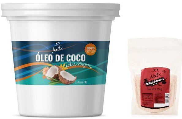 Óleo De Coco 3lt Extravirgem Empório Nuts