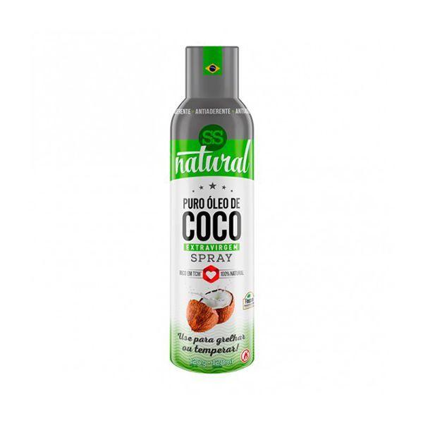 Óleo De Coco em Spray Extravirgem SS Natural 128ml
