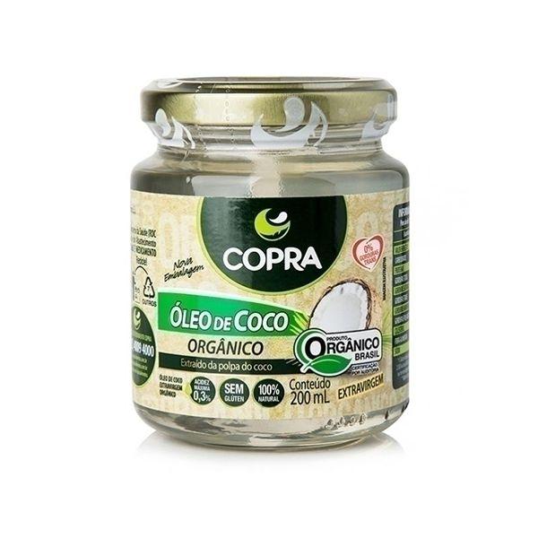 Óleo De Coco Orgânico Extravirgem 200ml Copra