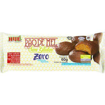 Pão De Mel Hue Zero Glúten Coberto Com Chocolate Vegano 70g