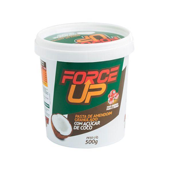 Pasta De Amendoim Force Up Com Açúcar De Coco 500g