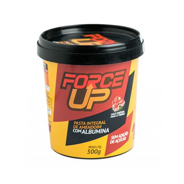 Pasta De Amendoim Force Up Com Albumina 500g