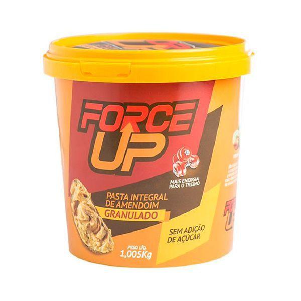 Pasta De Amendoim Force Up Com Tradicional Granulada 1,005kg