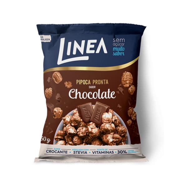 Pipoca Zero Açúcar Linea Chocolate 50g