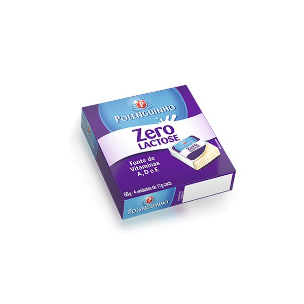 Polenguinho Zero Lactose Contendo 4 Unidades De 17g Cada