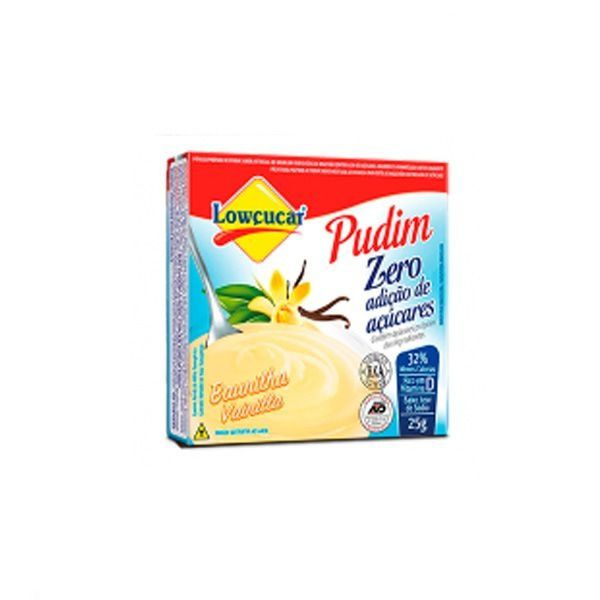 Pudim Baunilha Zero Açúcares Lowçúcar 25g